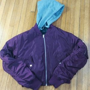 Forever XXI crop jacket NWT
